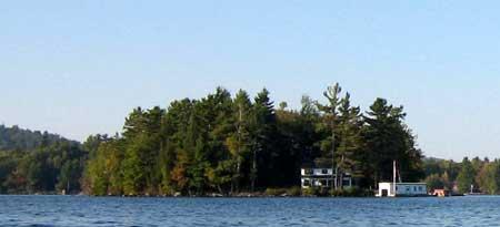 Little Island Lake Sunapee