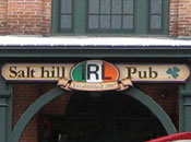 Salt Hill Pub Sign