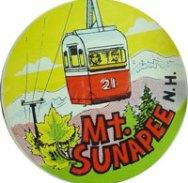 Mt. Sunapee Travel Decal