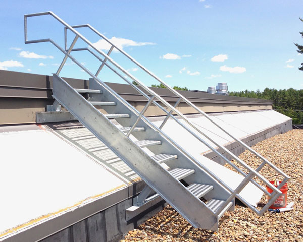 Roof Top Access Stair
