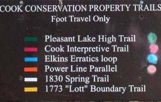 Cook Conservation Property Trails