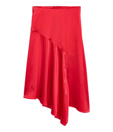 Red H&M Skirt