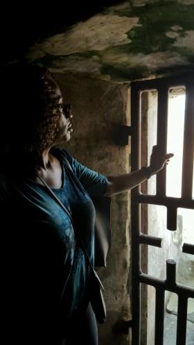 Sonya H At Door Of No Return Elmina Castle