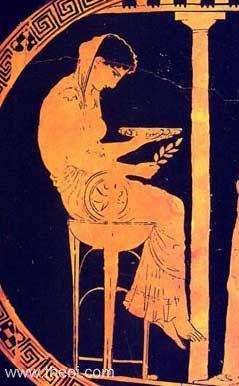 Representation of Themis circa 5th Century BCE