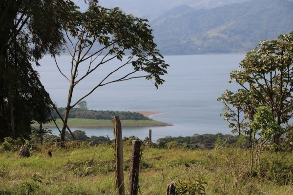 Special Lake Arenal View Land Property with Entrances on Two Roads
