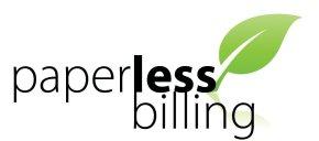 Paperless billing logo