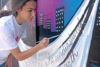 Lake Balboa mural honors slain journalist Daniel Pearl2
