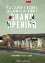 AS Sustainability Center Grand Opening flyer 2017.10.26