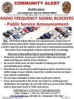 Radio Interuption