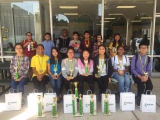 1st Place at Cabrini Math Tournament