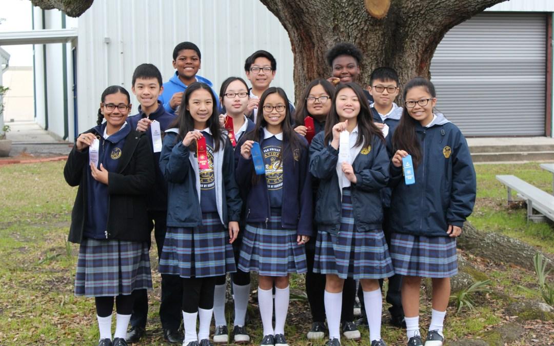 2018-2019 8th Grade Science Fair