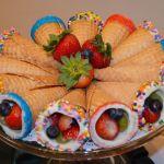 Fantastic Fruit Cones