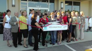 Unique Resale Boutique Ribbon Cutting