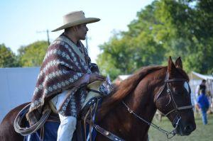Horseman at Texian Heritage Festival