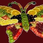 Fruit Butterfly Presentation