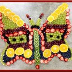 Use your imagination to 'Paint' your own Fruit Butterfly!