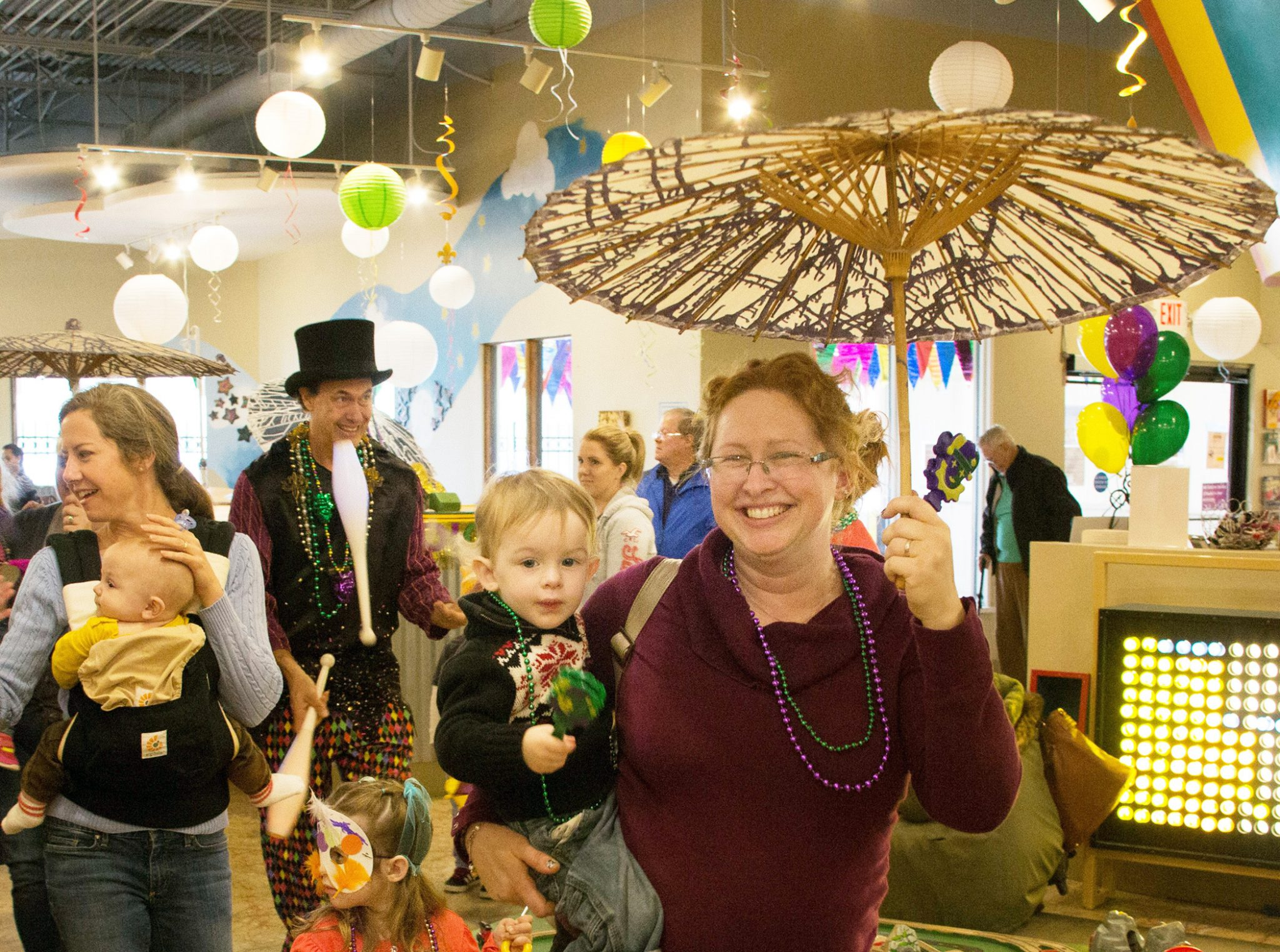 Mardi Gras Celebration Is Packed with Fun, Food and Parades — The Woodlands Children's Museum hosts party for families onTuesday, Feb. 13