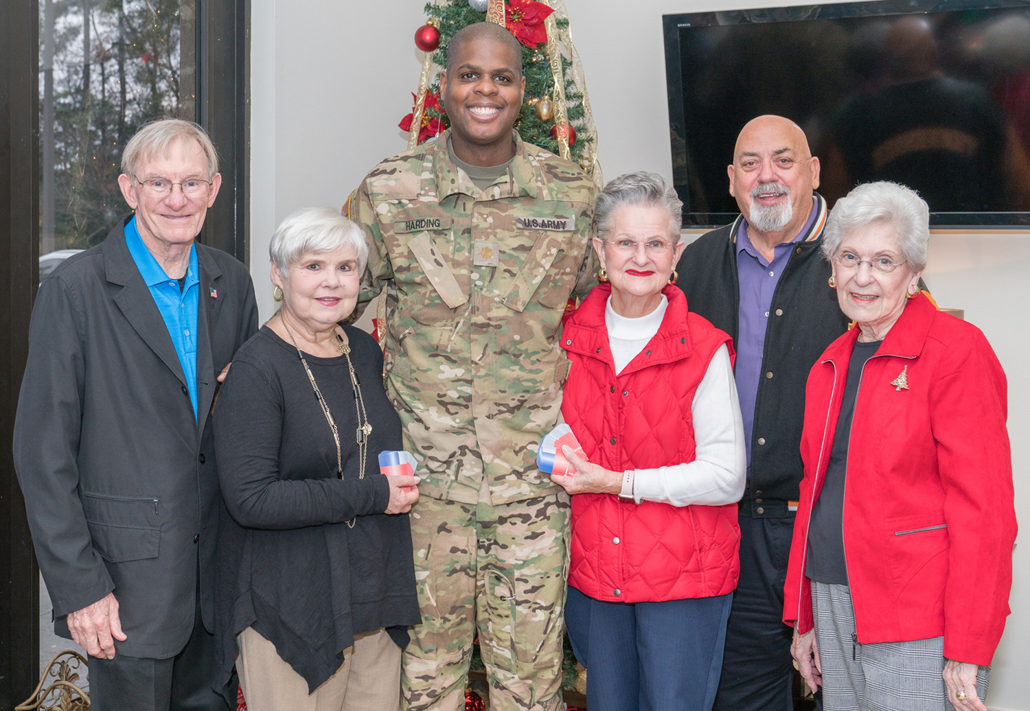 RE/MAX The Woodlands & Spring Agents Provide Holiday Support for Soldiers in Conroe — Members of First Battalion, 158th Aviation Regiment recipients of agents' generosity