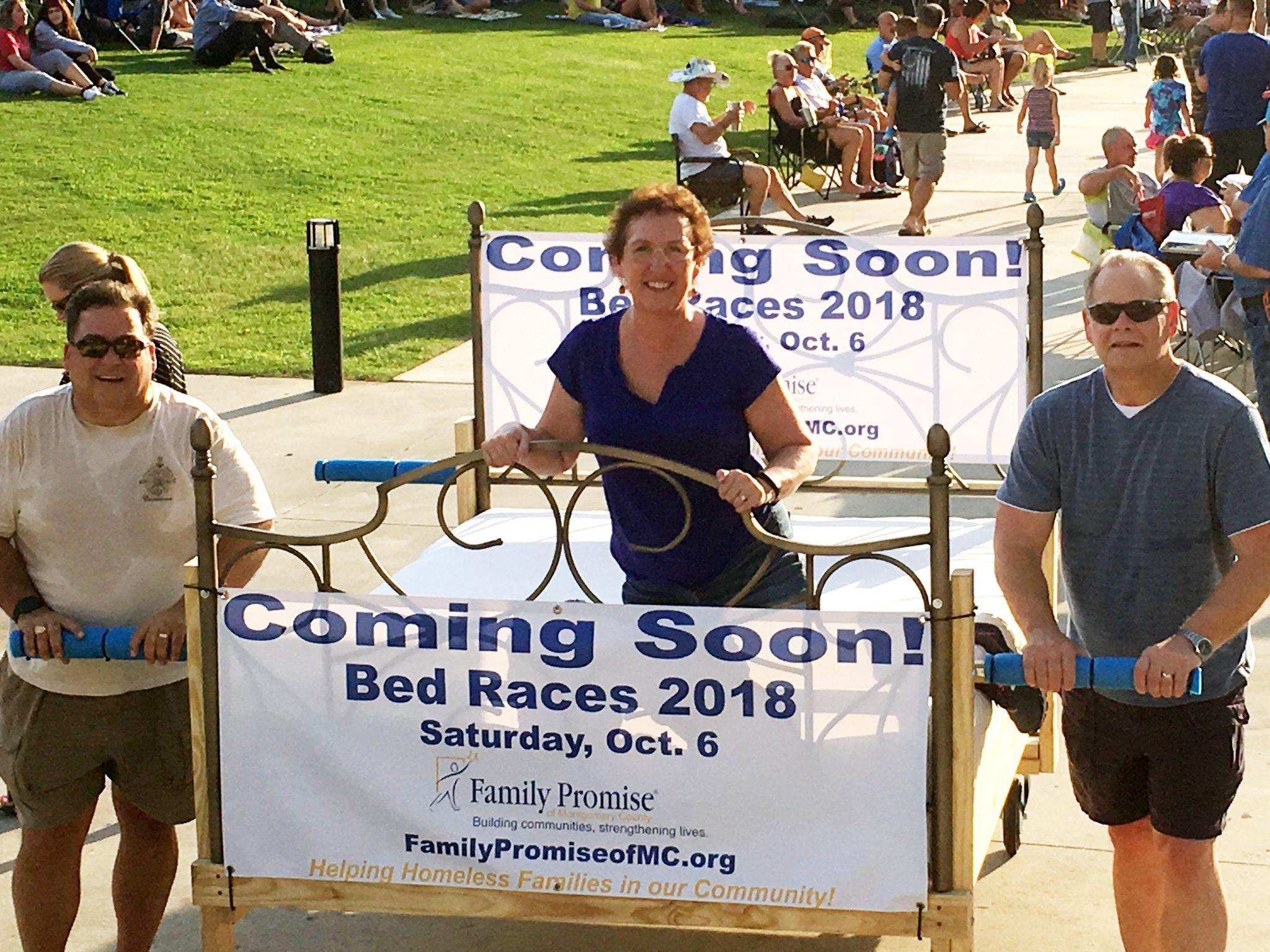 Family Promise 2018 Bed Races — Bed Races to assist homeless families with beds of their own