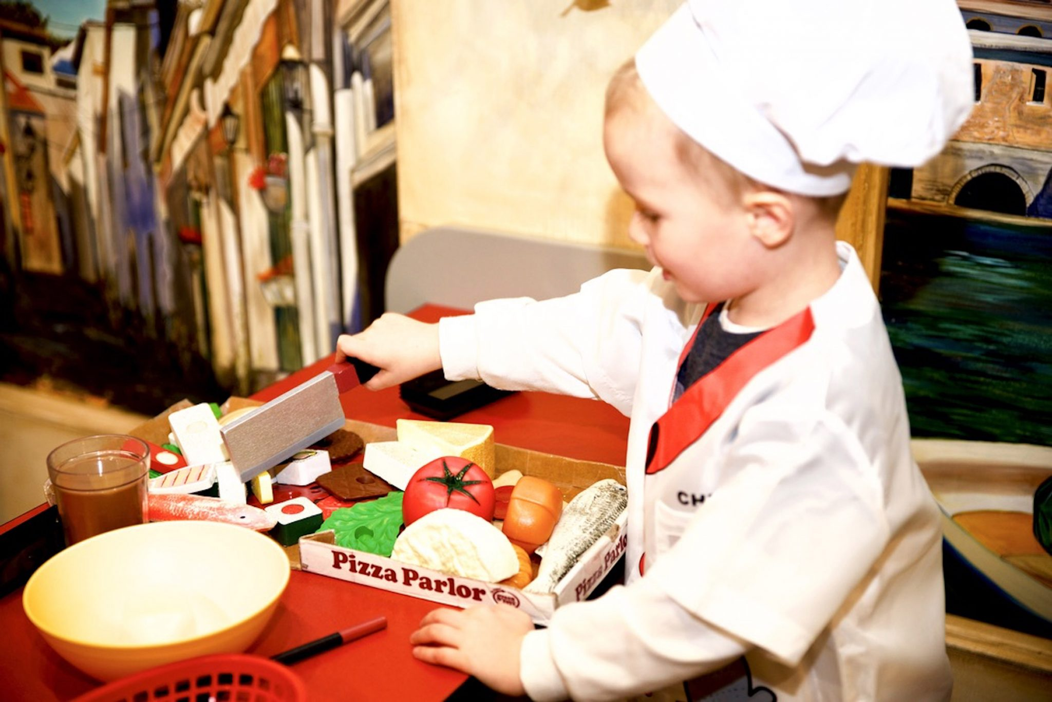 Play Café Exhibit Introduces International Tastes at The Woodlands Children's Museum