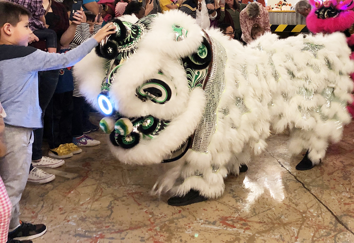 Lunar New Year at The Woodlands Children's Museum Saturday, Jan. 18 —Celebration Features Lion Dancers, Art and Games