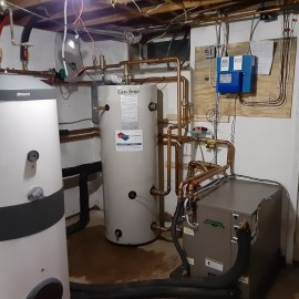 Converting Baseboard Heating to Geothermal with Air Conditioning in Honeoye Falls NY