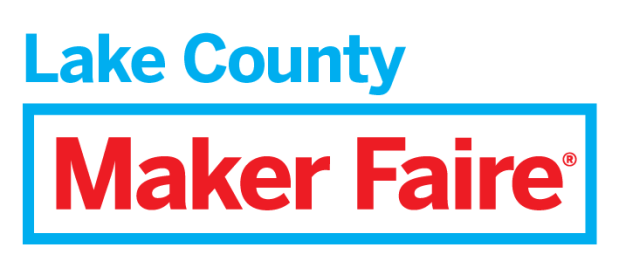 Maker Faire Lake County logo