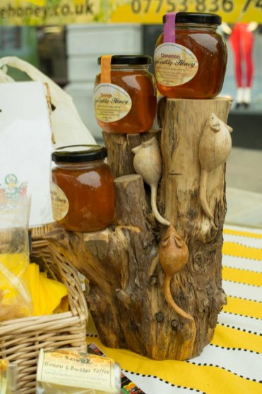 Fieldside Honey at the Kendal Festival of Food