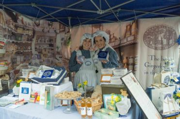 Grasmere Gingerbread at the Kendal Festival of Food