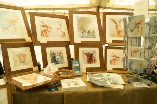 Watercolours by Jackie Hadwin of Undercrag Studio
