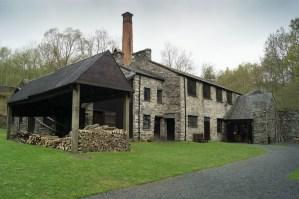 The outside of Stott Park Bobbin Mill