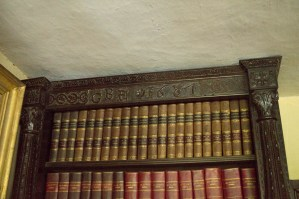 Bookcase carving