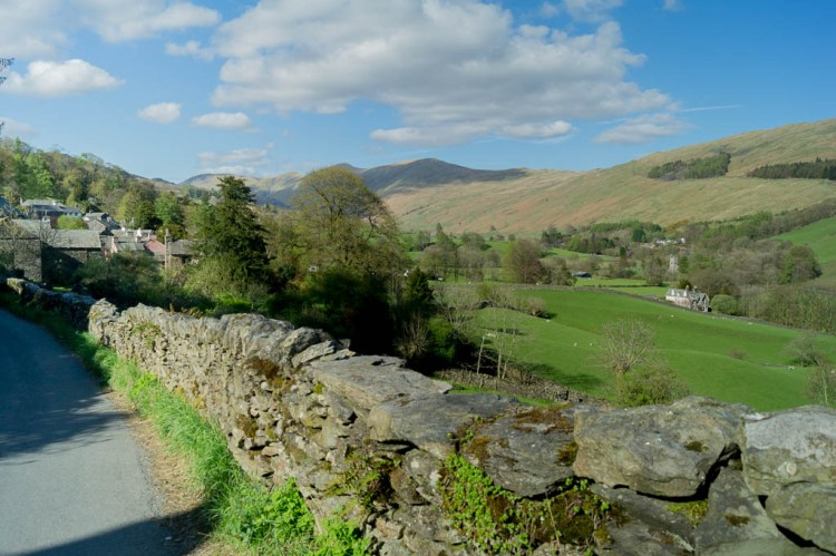 Looking across the Troutbeck Valley
