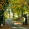 The entrance to Holehird near Windermere