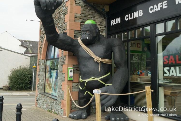 Outside King Kong Climbing Centre