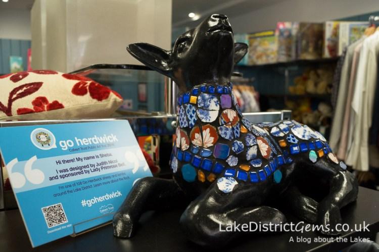 Go Herdwick lamb at Save the Children, Windermere