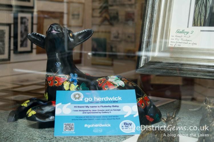 Go Herdwick lamb at Gallery2, Windermere