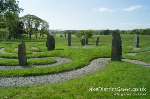 The Labyrinth at Holker Hall
