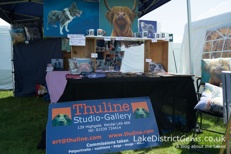 Thuline Studio Gallery at The Holker Garden Festival 2016