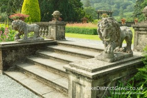 Thomas Mawson's formal garden at Rydal Hall