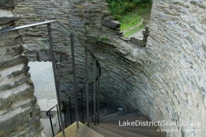 Claife Viewing Station's spiral staircase, Windermere
