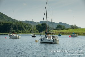 The southern end of Coniston Water