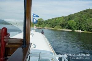 On board The National Trust's Gondola