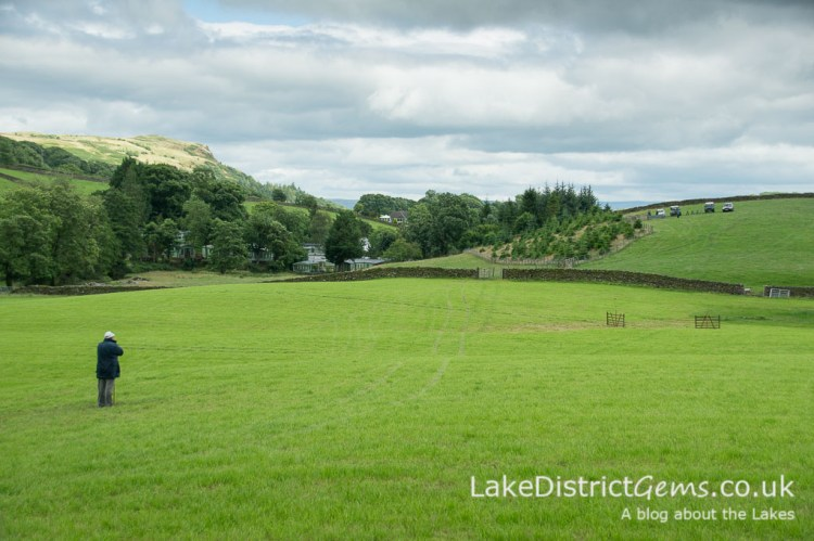 Scenery at the Lake District Sheepdog Trials, Ings
