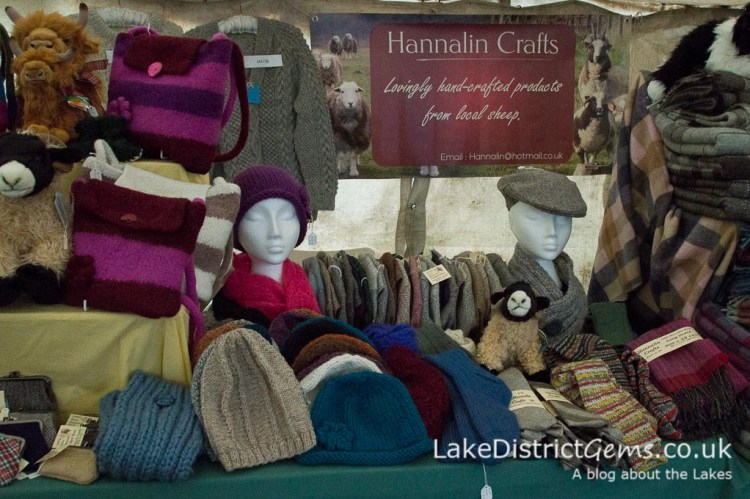 One of the craft stands at the Lake District Sheepdog Trials