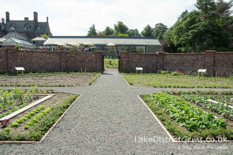 The Walled Garden on the Lingholm Estate