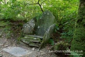 Ruskin's Seat, Brantwood