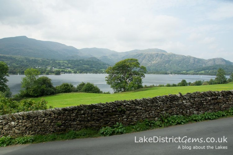 The view from Brantwood, Coniston