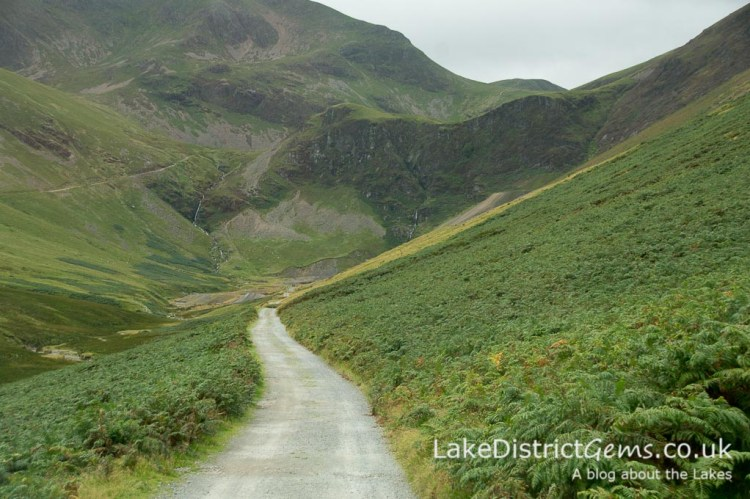 The head of the Coledale valley