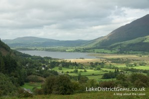 The view over Bassenthwaite from the Whinlatter Pass